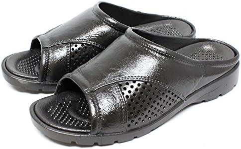 1121 紳士サンダル (M(約25.5~26cm, BLACK)