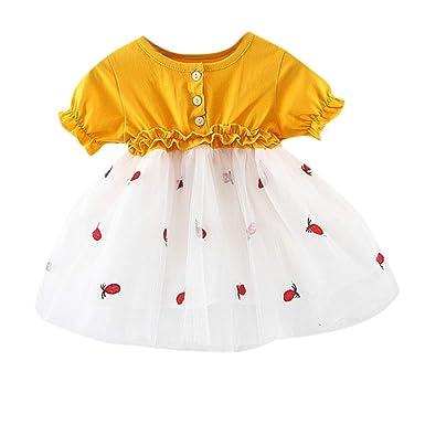 bebé niña Princesa Vestido de Tul de Tutu, Vestido Manga ...