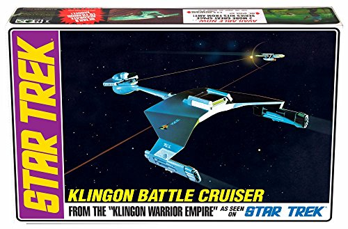 Star Trek Klingon Battle Cruiser - Round 2 AMT - 1/650 scale (Battlecruiser Snap)