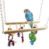 Birds toys,NNDA CO Pet Bird Parrot Parakeet Budgie Cockatiel Cage Hamster Hammock Swing Hanging Toy