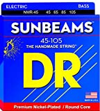 DR Strings Sunbeam - Nickel Plated Round Core Bass 45-105