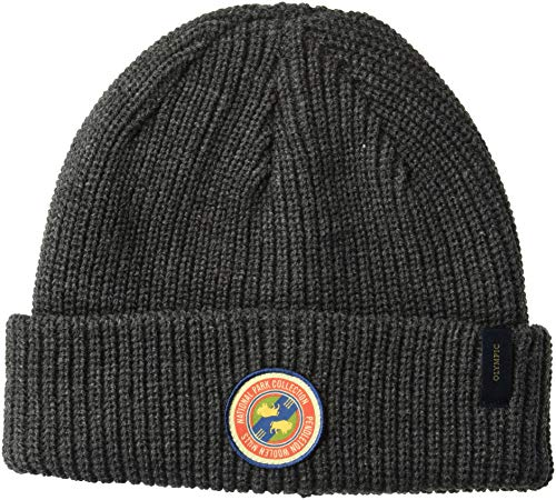Pendleton Men's National Park Reversible Beanie, Olympic Stripe, One Size ()