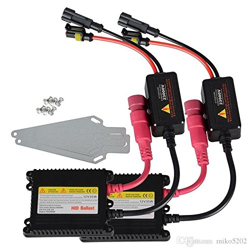 Hid Xenon Ballast (HID Xenon Conversion Kit Replacement Ballasts - 1 Pair, 35 Watts DC Slim -)