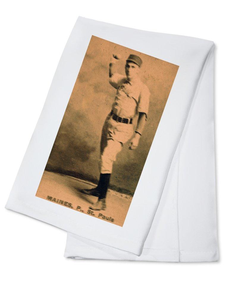 セントポールMinor League – Maines – 野球カード Cotton Towel LANT-23605-TL Cotton Towel  B0184BAFOW