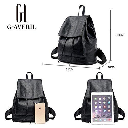 Black Bag Black Black Ga1134 b Woman Backpack averil G aqp4wHp