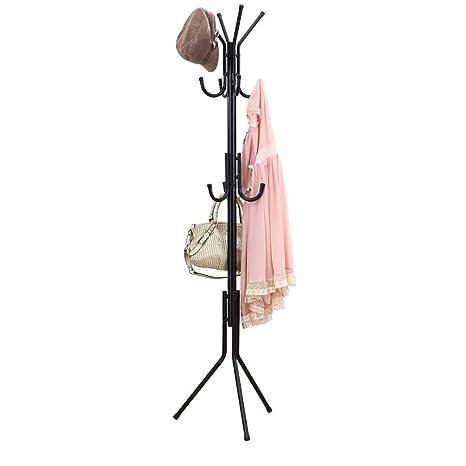 Amazon.com: wenlongshop Freestanding Coat Rack, Metal Coat ...