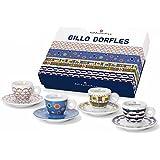 イリー アートコレクション illy Art Collection ジッロ・ドルフレス GILLO DORFLES エスプレッソカップ4客セット