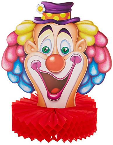 Beistle 57705 Clown Centerpiece, 10-Inch