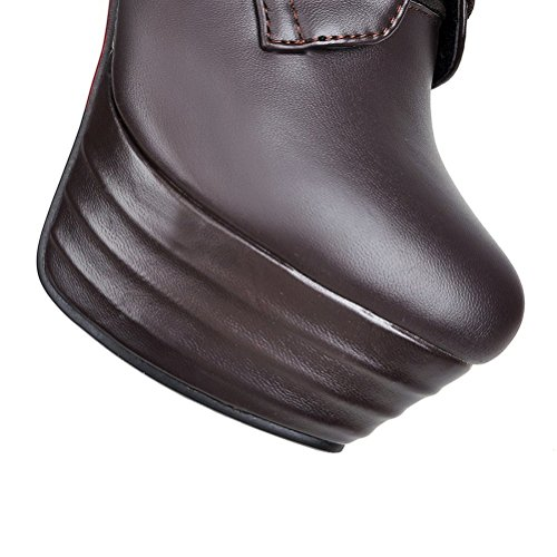 Collo EU 35 Alto Donna A Agodor Nero Brown vx5Ow6xqA
