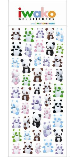 Panda Bear Stickers Stickers Pack product image
