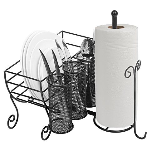 All-in-One Metal Kitchen Storage Caddy w - Tabletop Utensil Holder Shopping Results