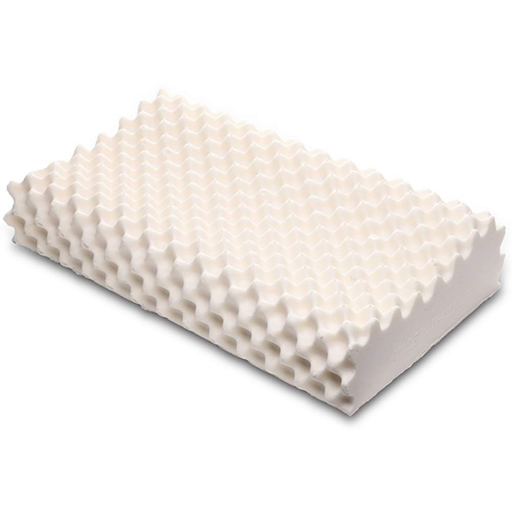 WTGG-Home Textile Latex Pillow - Thai Natural Latex Pillow Whole Imported Natural Large Particle Massage Latex Pillow Ergonomic Pillow 95% Latex Content /& by WYGG (Image #2)
