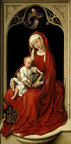 [Oil Painting 'Weyden Roger Van Der Virgin And Child 1435 38 ' Printing On Polyster Canvas , 20 X 40 Inch / 51 X 102 Cm ,the Best Kitchen Decor And Home Artwork And Gifts Is This High Definition Art Decorative Prints On] (Van Gun X Sword Costume)