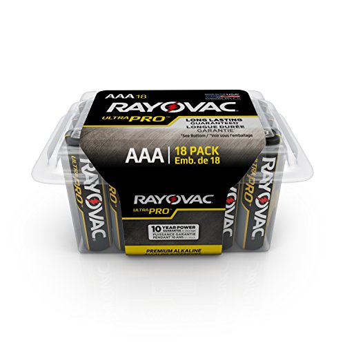 Rayovac UltraPRO Alkaline Batteries Recloseable