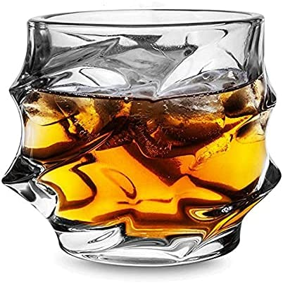 NKNVO Vasos De Whisky Vasos Cristal Rocas Vasos Vasos Vasos Vasos Beber para La Fiesta En Casa Regalo De Gafas De Boda