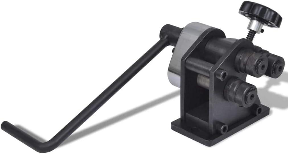 vidaXL Máquina Curvadora Plegadora Portátil y Manual Maquinaria Industrial
