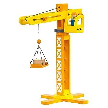 Etwas Neues genug BINO 84087 Holz-Baukran, bunt mit Zubehör: Amazon.de: Spielzeug @RW_64