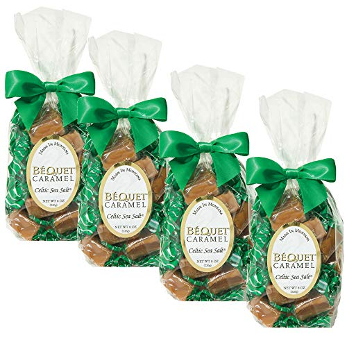 (Bequet Caramels - Celtic Sea Salt 8oz (4 Pack))