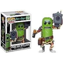 Pop Animation Morty-Pickle Rick - Figura coleccionable con láser, Multi Color