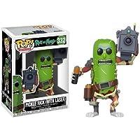 Funko Pop Animation Morty-Pickle Rick con Laser Collectible Figura