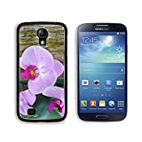 MSD Premium Samsung Galaxy S4 Aluminium Backplate Snap Case Winter flowers cyclamen in a greenhouse of Beijing Image ID 24987823