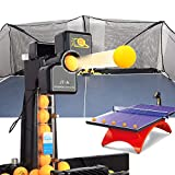 PROMOTOR Table Tennis Robot, Profession Automatic Table Tennis Machine JT-A Ping-Pong Spin Ball Training