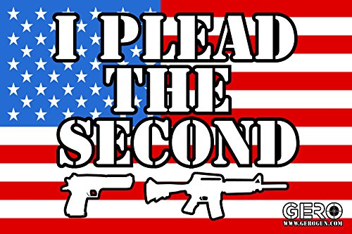 (GERO Second Amendment State Flag Stickers -2nd Amendment Car Stickers for Car Window Truck Decals NRA Decal Gun Rights Decal Gun Control Bumper Sticker Gadsden Flag - USA Flag)