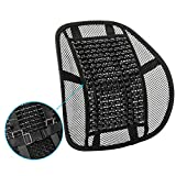 ACVCY Lumbar Mesh Support for Office Chair or Car Seat,Breathable Comfortable Lumbar Support