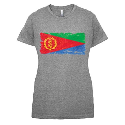 Eritrea Grunge Style Flag - Womens T-Shirt - Sports Grey - XXL