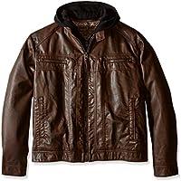 Calvin Klein Men's Leather Jacket