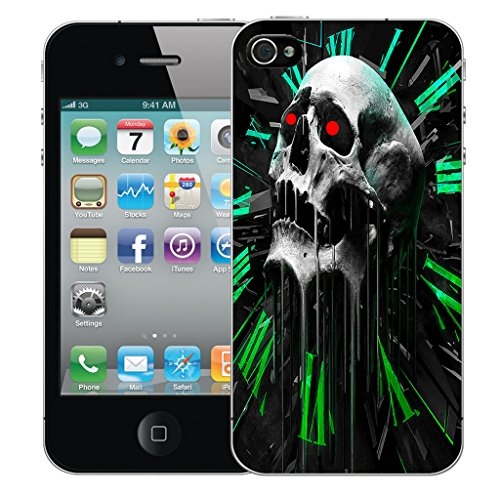 Mobile Case Mate iPhone 4s Silicone Coque couverture case cover Pare-chocs + STYLET - Vertex pattern (SILICON)