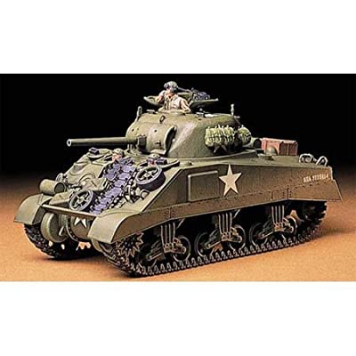 Tamiya Us Med. Tank M4 Sherman Early Production: Toys & Games