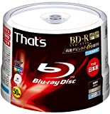 50 Taiyo Yuden Blu Ray Discs 6x Speed Lth Type Original No Logo for Professional Use