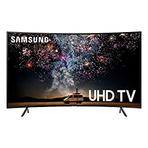 Samsung UN55RU7300FXZA Curved 55-Inch 4K UHD 7 Series Ultra HD Smart TV with HDR and Alexa Compatibility (2019 Model) Televisions