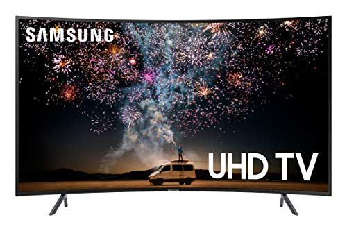 Samsung UN65RU7300FXZA CURVED 65'' 4K UHD 7 Series Smart TV (2019) (Best Cheap Small Tv)