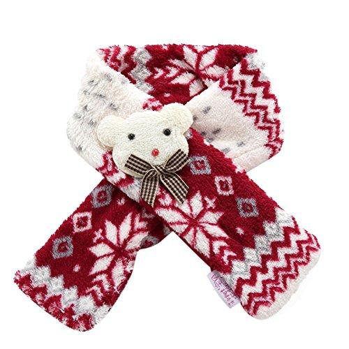 Homedeco Pet Christmas Scarf Dog Costume Apparel Holiday Scarf Collar Accessories Puppy Cat Winter Plush Neckerchief Decor