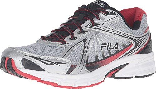 Fila, Omnispeed Ejecución de la zapatilla de deporte Silver/Red/Black