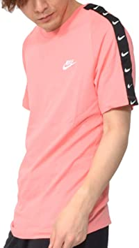 t shirt nike rose homme