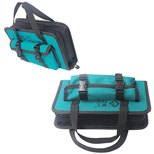 Tool Organizers YT Tool Bag 26015555mm Waterproof Electrician Tool Bag Oxford Canvas Handbag Organizer Tools