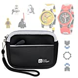 DURAGADGET Premium Quality Black Neoprene Case for New Lego Star Wars Buildable Kids Watches - with Handy Wrist Strap & Additional Storage