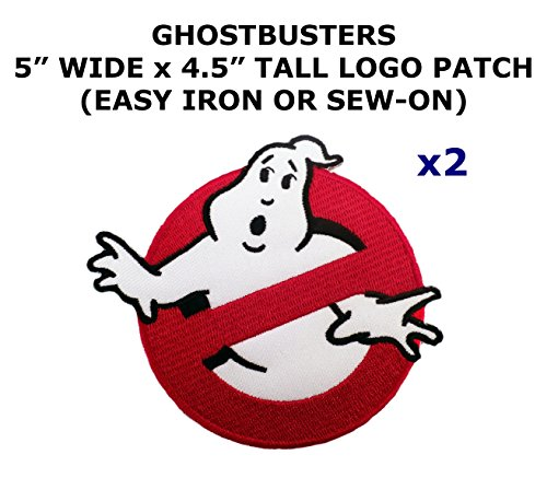 Diy Ghostbuster Costume (2 PCS Ghostbusters Theme DIY Iron / Sew-on Decorative Applique Patches)