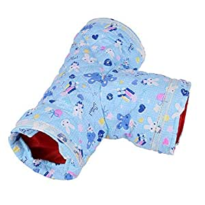 fidgetfidget tunnel toy hamster hedgehog rabbit rat bed small pet tube play house. Black Bedroom Furniture Sets. Home Design Ideas