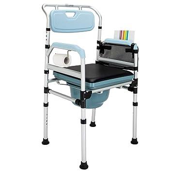 Amazon.com: mefeir plegable silla con orinal para inodoro ...