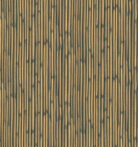 Brewster NG63878 National Geographic Kids Nonomiya Light Brown Bamboo Wallpaper