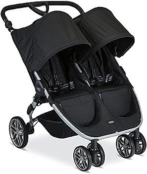 Britax 2017 B-Agile Double Stroller (Black)
