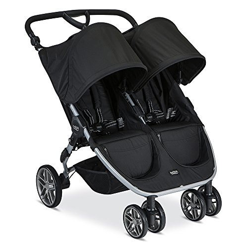 Britax 2017 B-Agile Double Stroller, Black by Britax USA