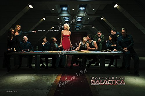 Posters USA - Battlestar Galactica TV Series Show Poster GLOSSY FINISH - TVS034 (24