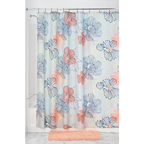 Compare Price To Blue Coral Shower Curtain