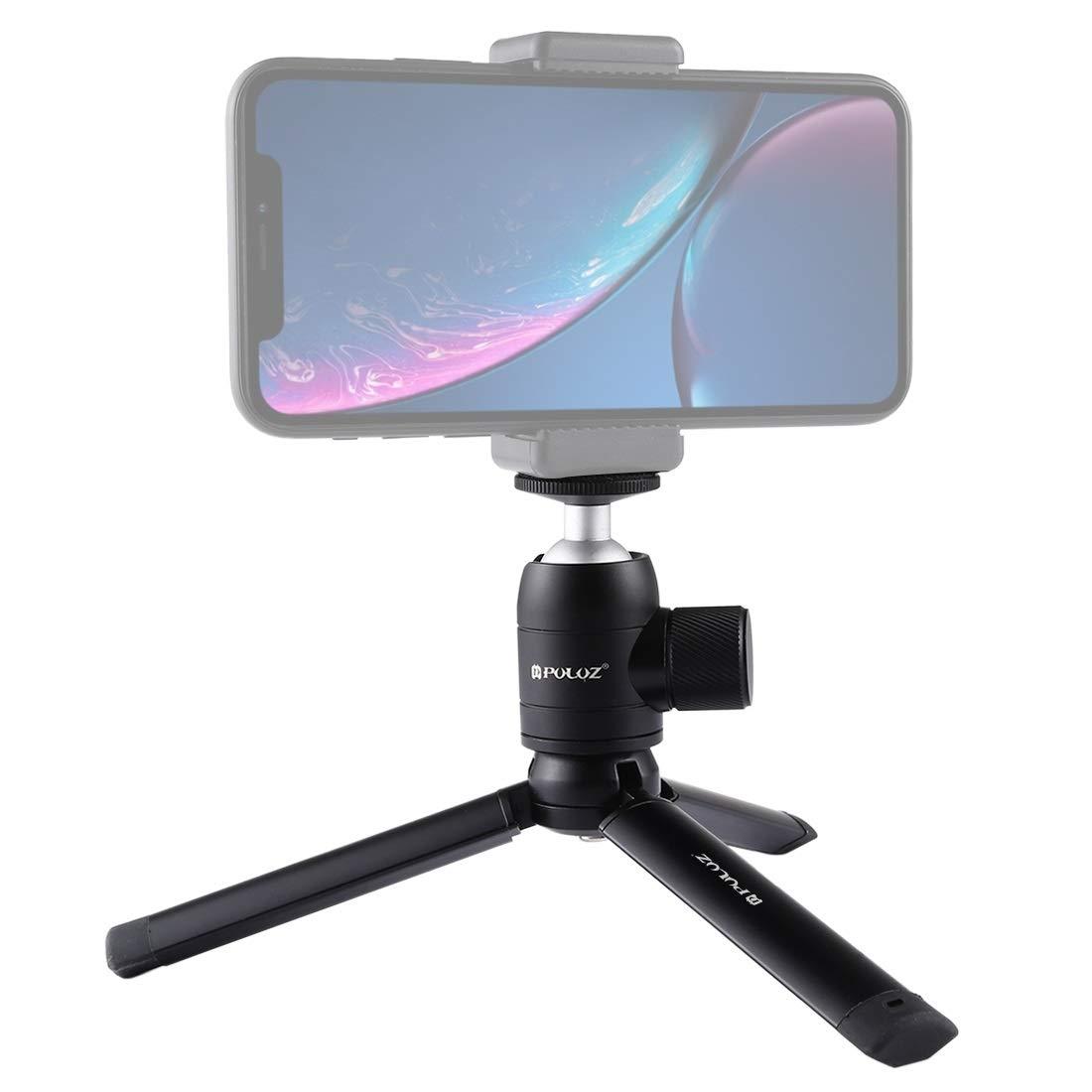 Camera Accessories Mini Pocket Metal Desktop Tripod Mount Mini Metal Ball Head with 1//4 inch Screw for DSLR /& Digital Cameras