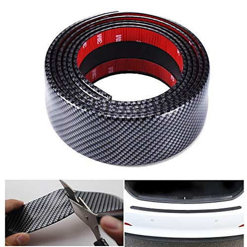 COSMOSS Automotive Tape Self Adhesive Pinstriping Mounting Tape DIY Car Carbon Fiber Print Multi-Purpose Adhesive Molding Tape Stripe Sticker Decal Vinyl (7 cm, Carbon Fiber Pattern)